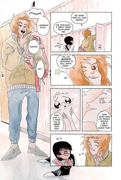 Weeaboo Graphic Novel