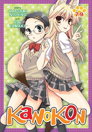 Kanokon Manga Omnibus 4 (Vols 7-9)