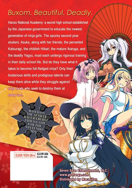 Senran Kagura Skirting Shadows Manga Volume 1