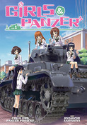 Girls und Panzer Manga Volume 1