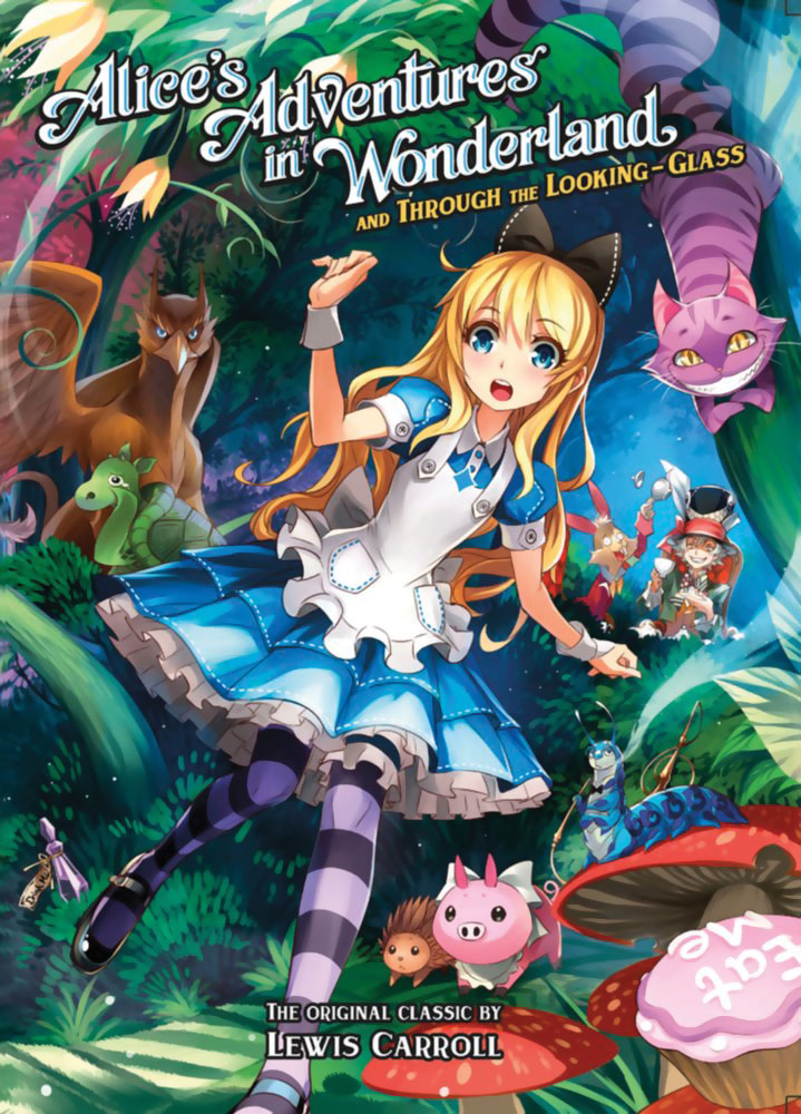 ace347acfc Alice's Adventures in Wonderland and Through the Looking-Glass Novel