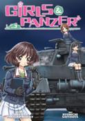 Girls und Panzer Manga Volume 3