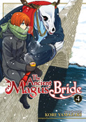 The Ancient Magus' Bride Manga Volume 4