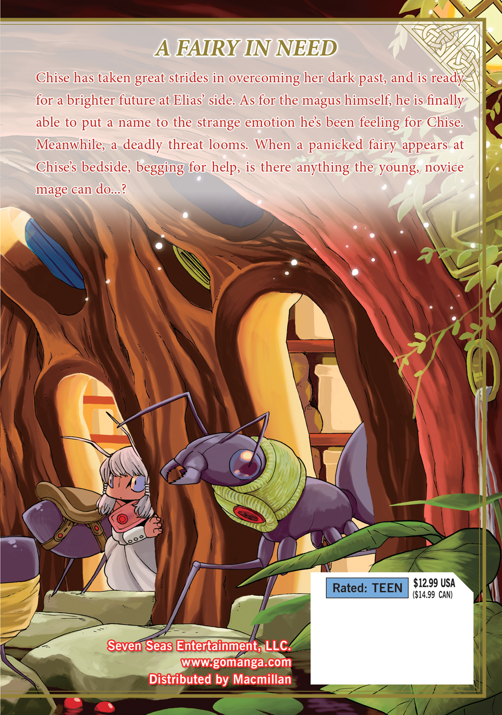 The Ancient Magus' Bride Manga Volume 5