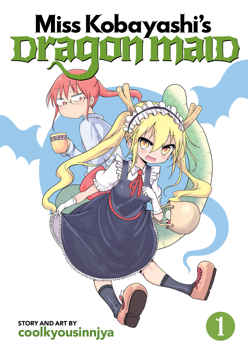 Miss Kobayashi's Dragon Maid Manga Volume 1