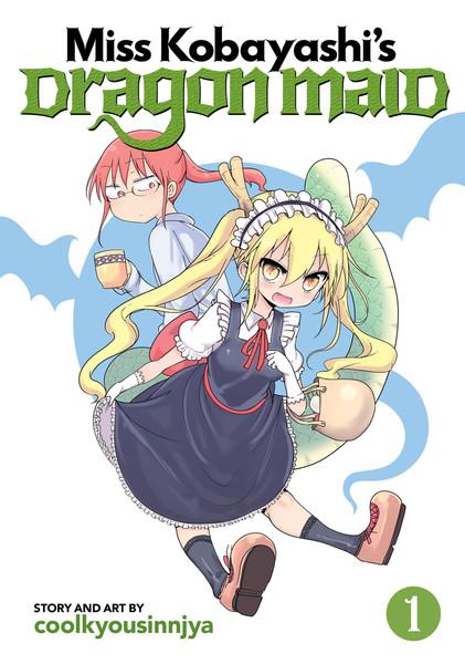 Miss Kobayashi's Dragon Maid Manga Volume 1