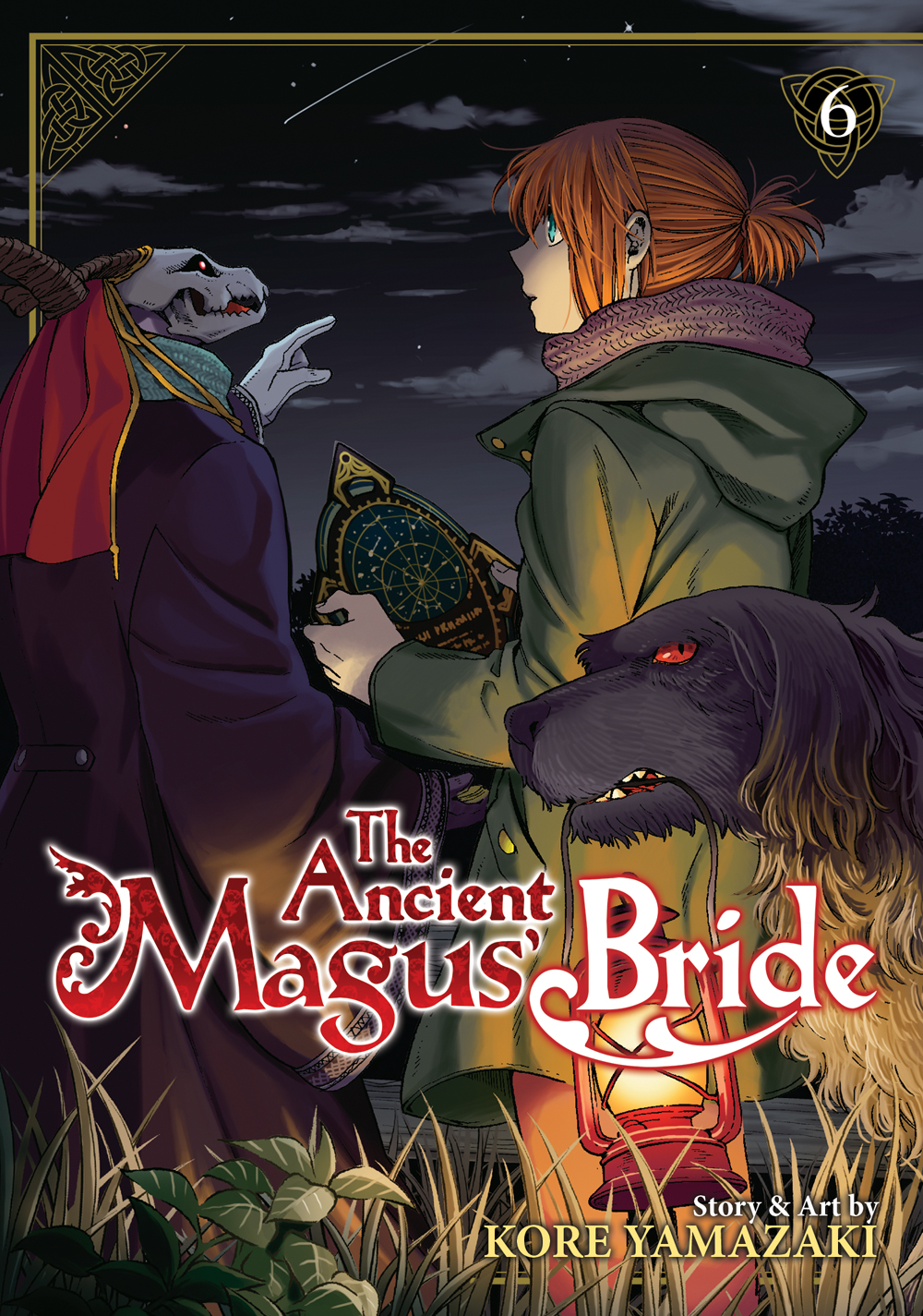 The Ancient Magus' Bride Manga Volume 6