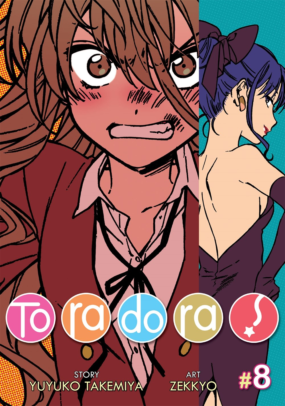 Toradora Manga Volume 8