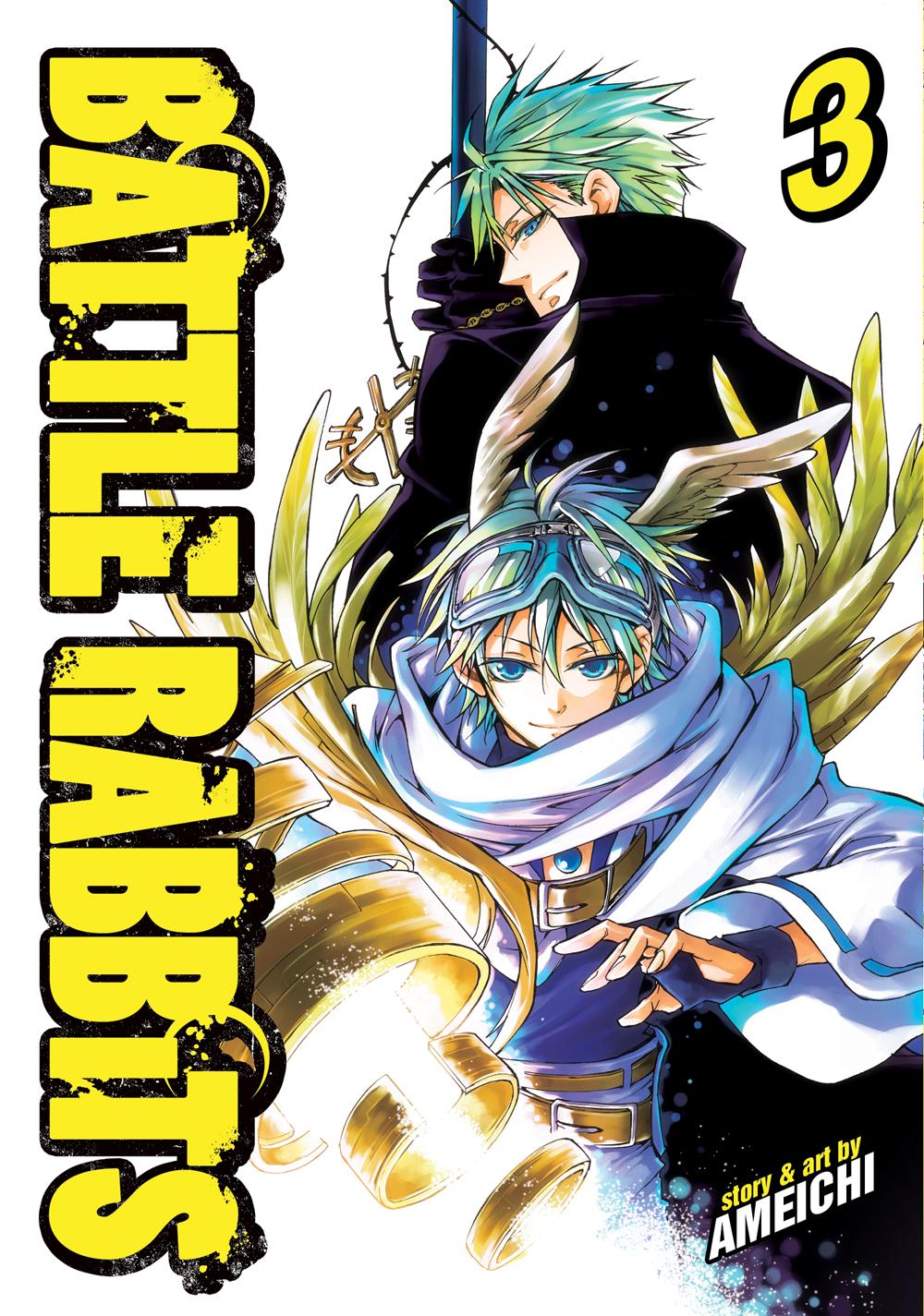Battle Rabbits Manga Volume 3 9781626923812