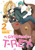 My Girlfriend is a T-Rex Manga Volume 2