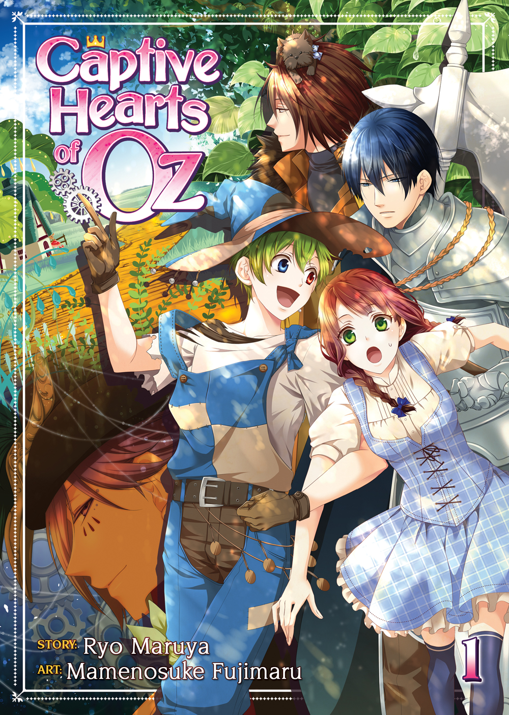 Captive Hearts of Oz Manga Volume 1