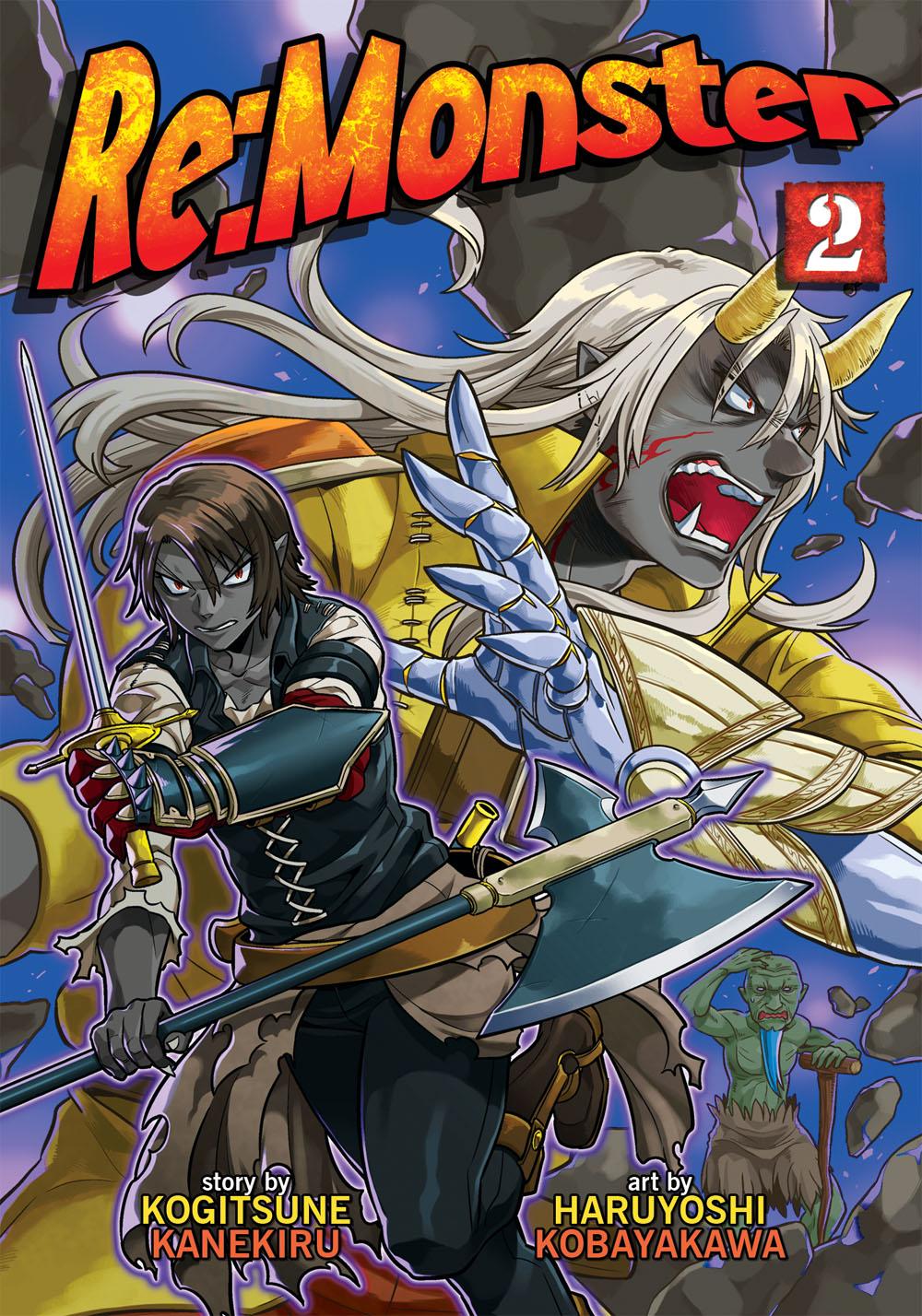 monster re vol volume manga graphic remonster novel novels rightstufanime