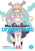 Miss Kobayashi's Dragon Maid Manga Volume 2