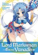 Lord Marksman and Vanadis Manga Volume 3
