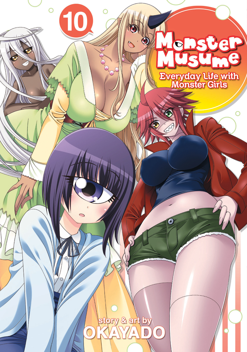 Monster Musume Manga Volume 10