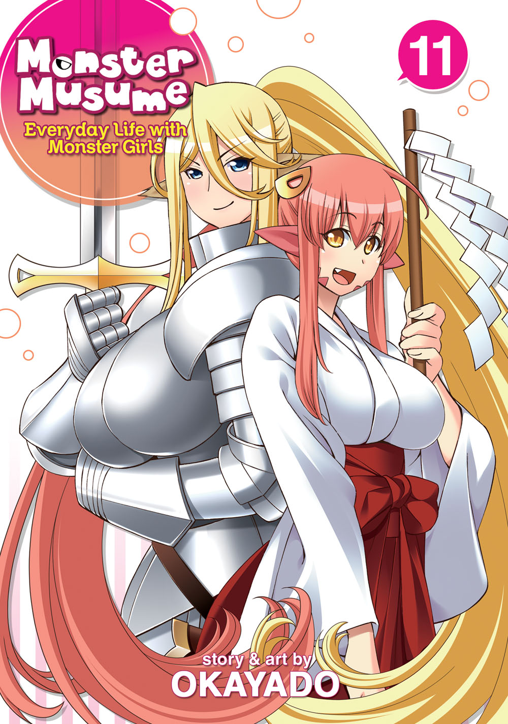 Monster Musume Manga Volume 11