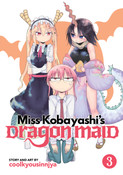 Miss Kobayashi's Dragon Maid Manga Volume 3