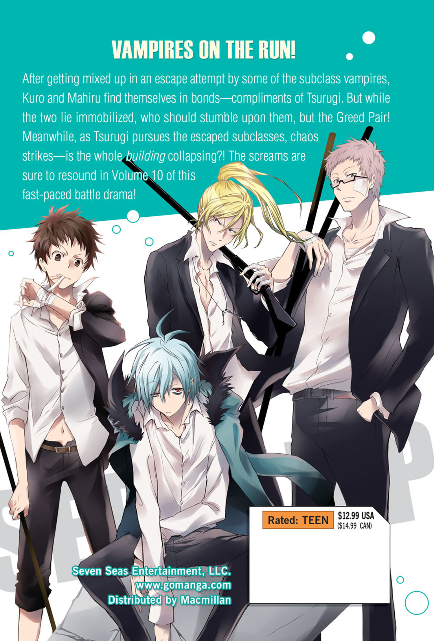 Servamp Manga Volume 10