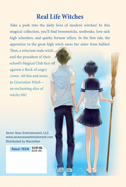 Generation Witch Manga Volume 1