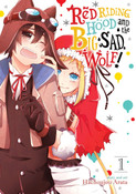 Red Riding Hood and the Big Sad Wolf Manga Volume 1