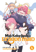 Miss Kobayashi's Dragon Maid Manga Volume 4