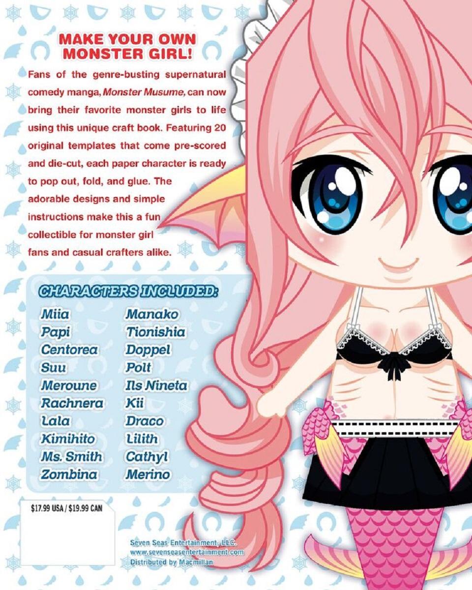 Monster Musume Monster Girl Papercrafts