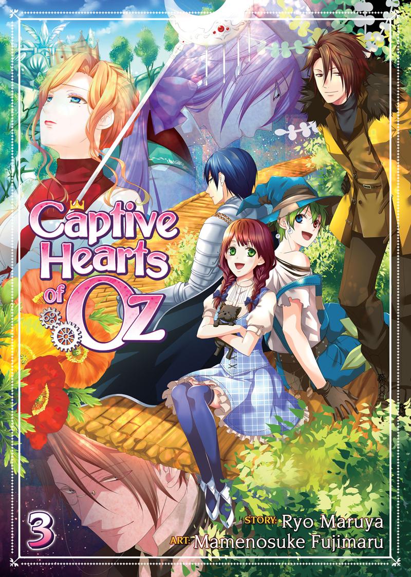 Captive Hearts Of Oz Manga Volume 3