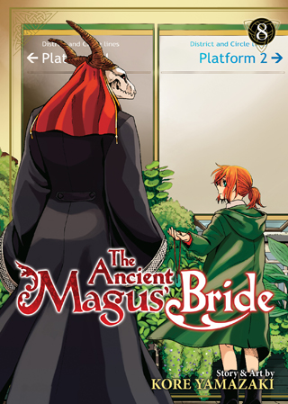 The Ancient Magus' Bride Manga Volume 8