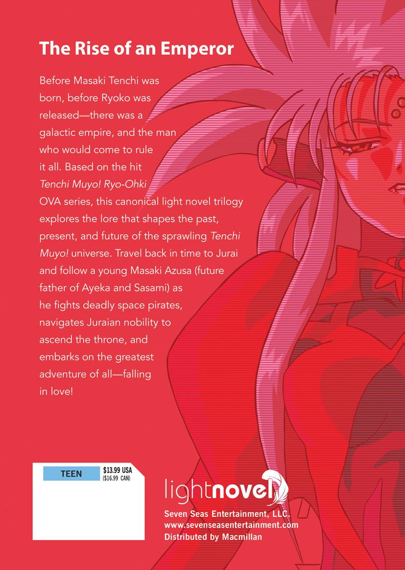 True Tenchi Muyo! Novel Volume 1