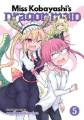 Miss Kobayashi's Dragon Maid Manga Volume 5