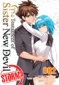 The Testament of Sister New Devil Storm! Manga Volume 2