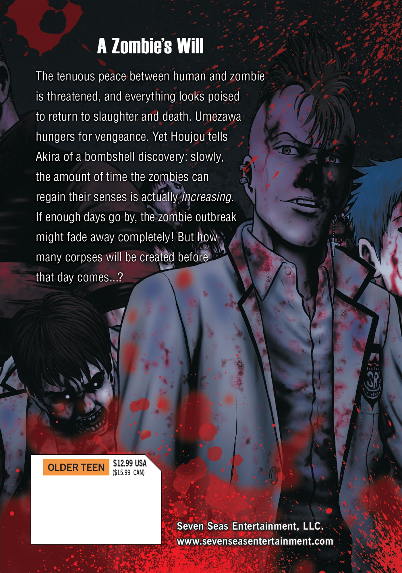 Hour of the Zombie Manga Volume 7