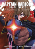 Captain Harlock Dimensional Voyage Manga Volume 3