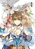 Tales of Zestiria Manga Volume 4