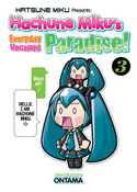 Hachune Miku's Everyday Vocaloid Paradise Manga Volume 3