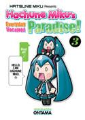 Hachune Miku's Everyday Vocaloid Paradise Manga Volume 3