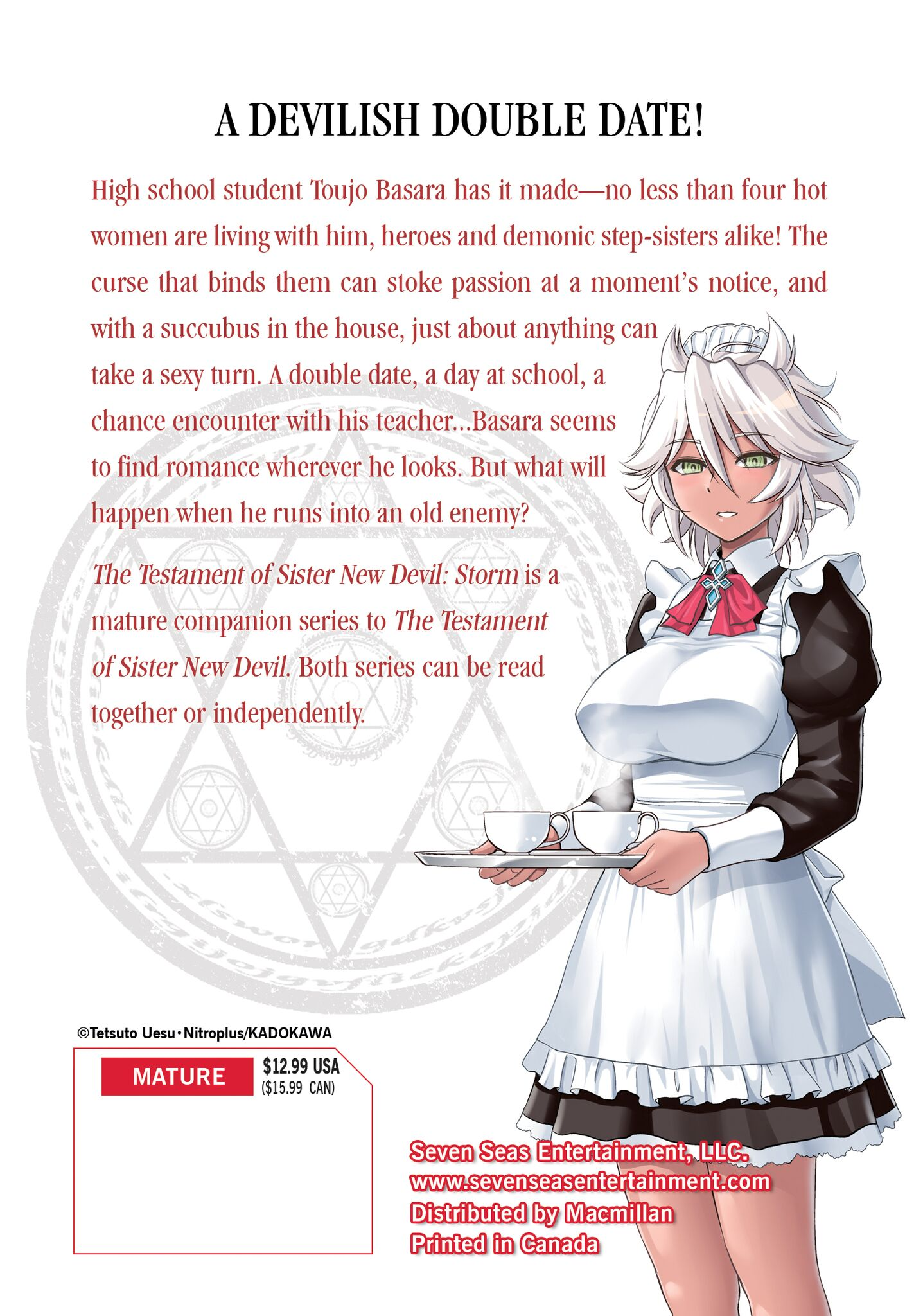 The Testament of Sister New Devil Storm! Manga Volume 3