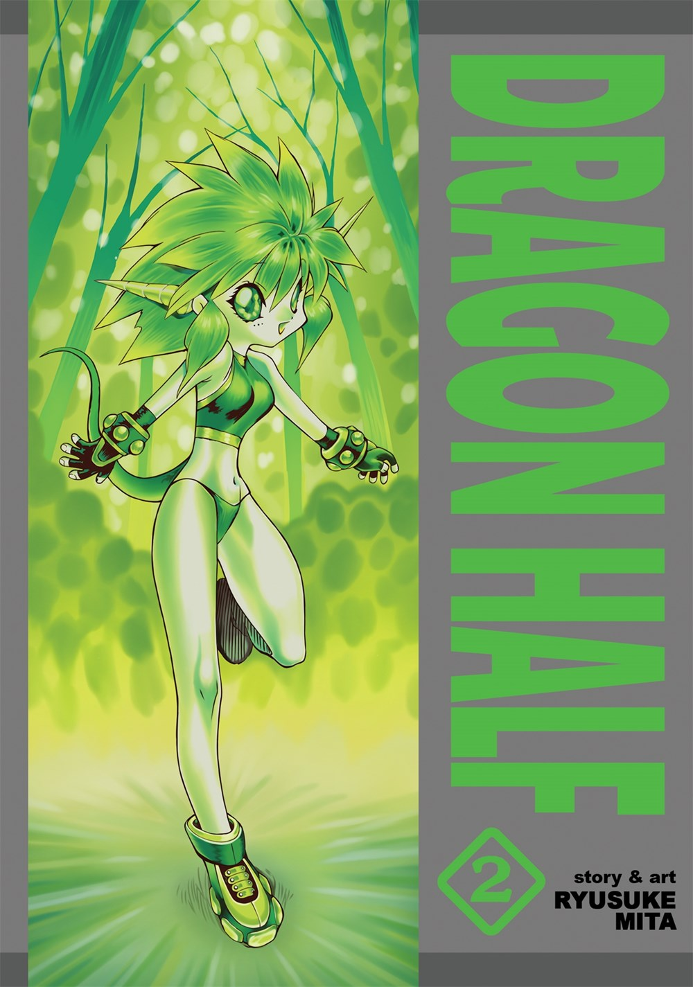 Dragon Half Omnibus Manga Volume 2