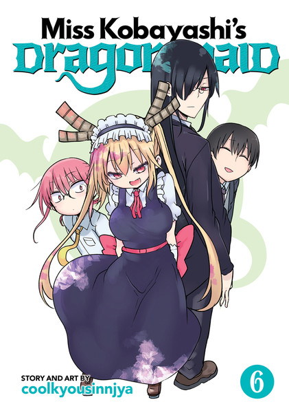 Miss Kobayashi's Dragon Maid Manga Volume 6