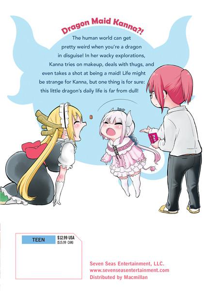 Miss Kobayashi's Dragon Maid Kanna's Daily Life Manga Volume 2