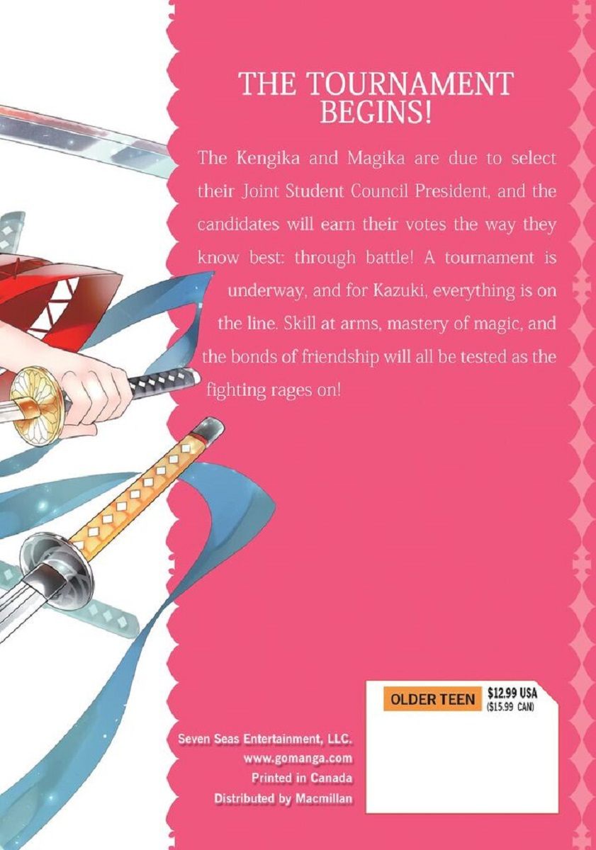 Magika Swordsman and Summoner Manga Volume 9