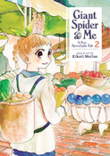 Giant Spider and Me A Post-Apocalyptic Tale Manga Volume 2