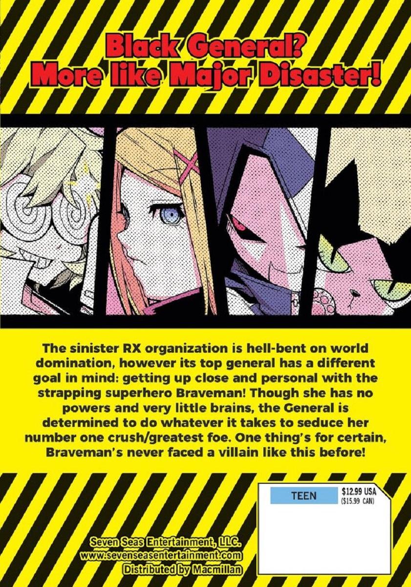 Precarious Woman Executive Miss Black General Manga Volume 1