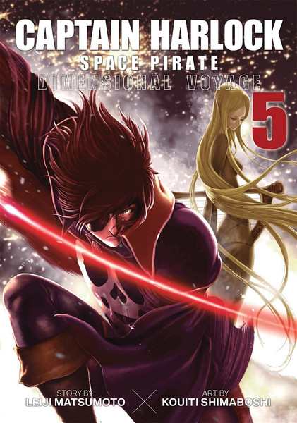 Captain Harlock Dimensional Voyage Manga Volume 5