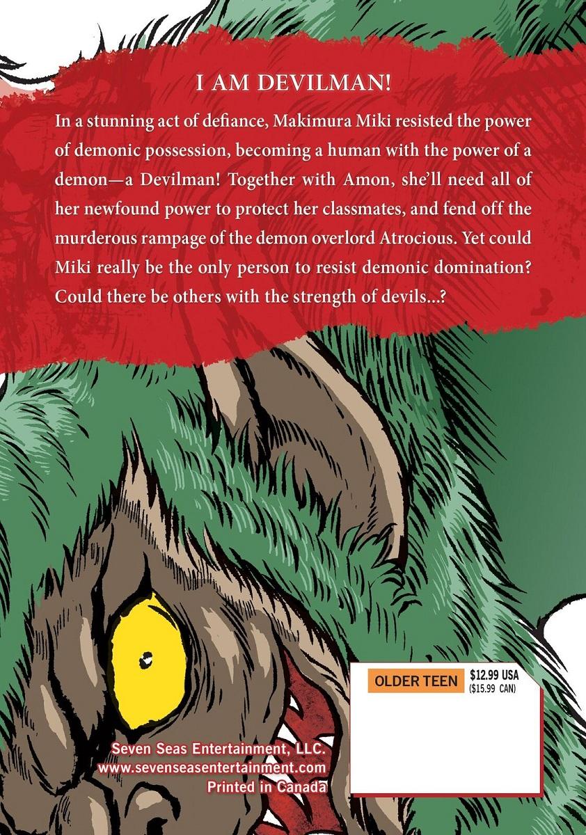 Devilman Grimoire Manga Volume 4