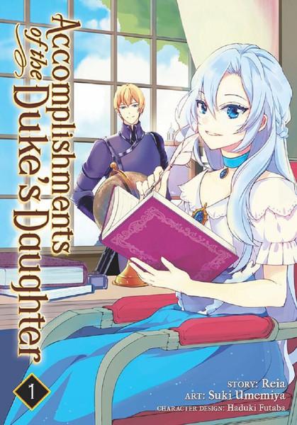 Accomplishments of the Duke's Daughter Manga Volume 1
