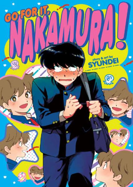 Go For It Nakamura! Manga