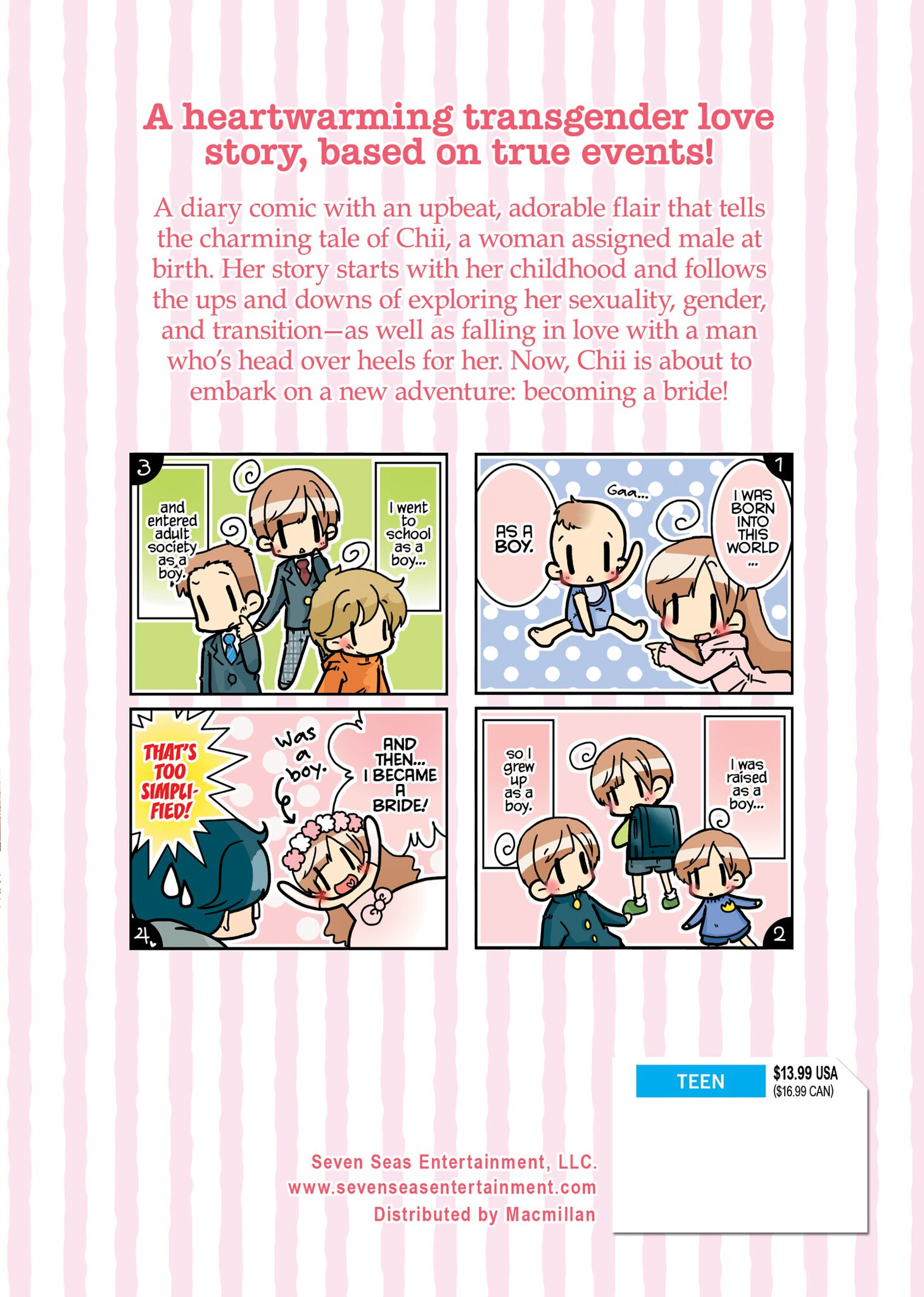The Bride Was a Boy Manga