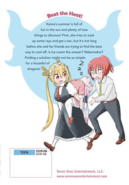 Miss Kobayashi's Dragon Maid Kanna's Daily Life Manga Volume 3