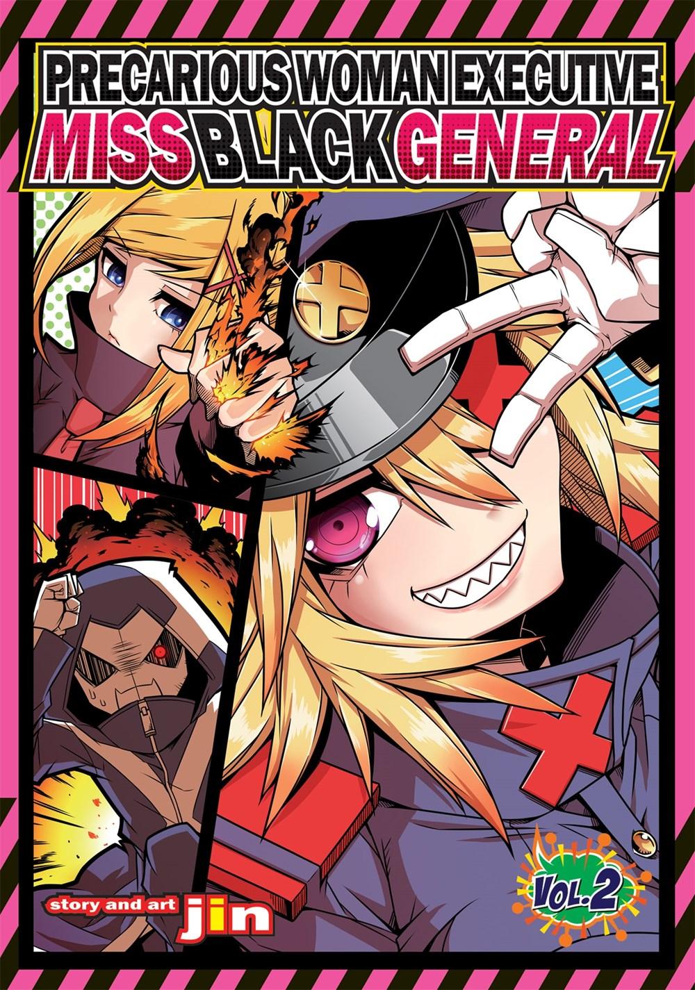 Precarious Woman Executive Miss Black General Manga Volume 2